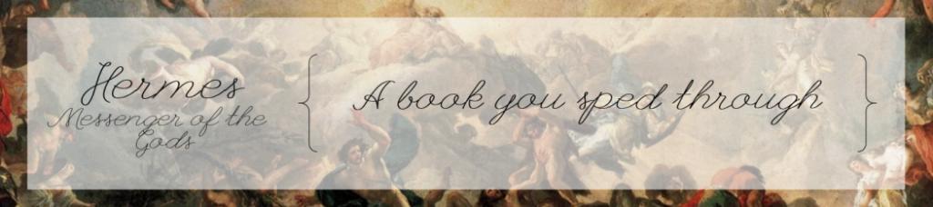 Hermes, Messenger of the Gods: A book you sped through